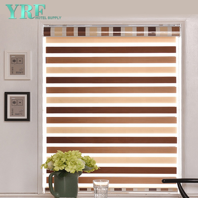 Roller Blinds Sheer Curtain Zebra Roller BlindsElectric morbido filato Curtain