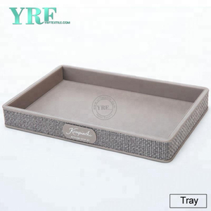 YRF alta Quality Hotel Five Star Tavolo porcellana Asciugamano Tray Factory